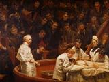 La clinique Agnew Giclée par Thomas Cowperthwait Eakins