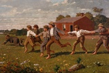 Snap the Whip Giclée par Winslow Homer