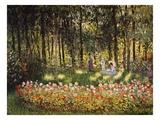 Wooded Scene Giclée par Claude Monet