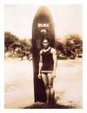 Young Duke Kahanamoku  Honolulu  Hawaii