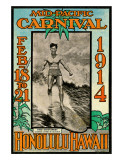 Mid Pacific Carnival 1914  Honolulu  Hawaii  Featuring Duke Kahanamoku