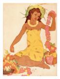Leimaker  Royal Hawaiian Hotel Menu Cover c1950s
