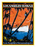 Los Angeles-Hawaii  Los Angeles Steamship Company  c1920s