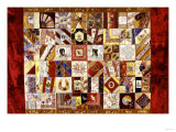 Pieced and Appliqued Contained Crazy Quilt  American  Late 19th Century