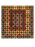 A Pieced Cotton and Flannel Coverlet  Pennsylvania  circa 1900