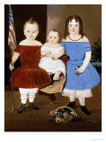 Portrait of Hattie Elizabeth  Ellis and Eva Flye  1854