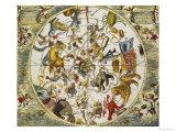 Atlas Coelestis Seu Harmonia Macrocosmica  18th Century