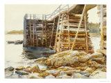 Wharf at Ironbound  1922