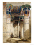 Egyptian View Giclée par David Roberts