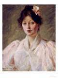 Young Woman in Pink  1905