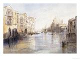 The Grand Canal  with Santa Maria Della Salute  Venice  Italy  1865