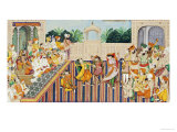 Musicians and Dancing Girls Perform Before Sher Singh  1874