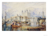 The Tower of London  circa 1825