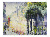 Rio San Trovaso  Venice  circa 1904