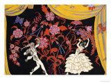 The Flamenco Giclée par Georges Barbier