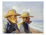 Two Skagen Fishermen  1907