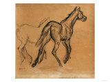 Horses, circa 1882 Giclée par Edgar Degas