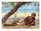 Samuel Under a Tree  Jamaica
