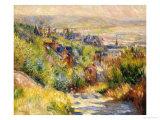 The Heights at Trouville Giclée par Pierre-Auguste Renoir