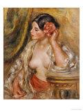 Gabrielle a Sa Coiffure  1910
