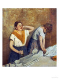 The Laundry Workers (The Ironing)  circa 1874-76
