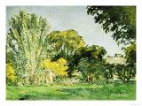 Trees at Jas de Bouffan Giclée par Paul Cézanne