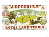 A Royal Lawn Tennis Set for 4 Players Made by Jefferies  Woolwich  circa 1875