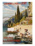 Suisse et Italie Par le St Gothard  1907