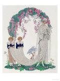 The Bride, 1920 Giclée par Georges Barbier
