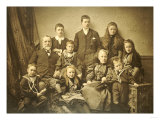 A Family Group Portrait  circa 1895-97