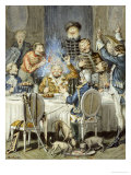 Illustrations for the Adventures of Baron Munchausen  19th Century