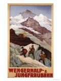 Wengernalp & Jungfraubahn  circa 1900