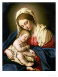 La Vierge et l'Enfant Giclée par Giovanni Battista Salvi Da Sassoferrato
