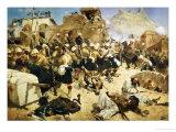 The 92nd Highlanders and the 2nd Gurkhas Storming Gaudi Mullah Sahibhad  Candahar
