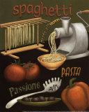 Spaghetti Reproduction d'art par Daphne Brissonnet
