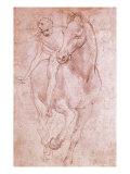 Horse and Rider Giclée par Leonardo Da Vinci