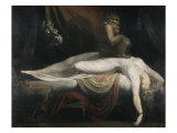 The Nightmare Giclée par Henry Fuseli