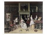 Fantasy Interior with the Family of Jan Van Goyen