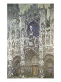 Rouen Cathedral (The Portal  Gray Weather)