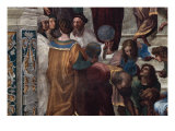 The School of Athens, Detail Giclée par Raphael