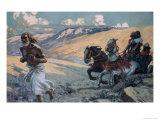 Elijah Runs Before the Chariot of Ahab