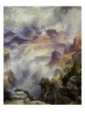 Canyon Mists: Zoroaster Peak  Grand Canyon