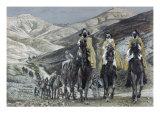 The Wise Men Journeying to Bethelhem
