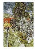 Dr Paul Gachet's Garden at Auvers-Sur-Oise  c1890