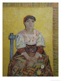 The Italian Woman (Agostina Segatori  Patron of the Cabaret  Le Tambourin)  c1887