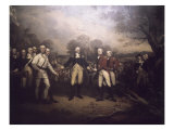 Surrender of General Burgoyne at Saratoga New