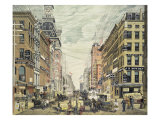 Broadway; from Cortlandt St and Maidin Lane
