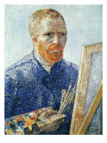 Self-Portrait in front of the Easel  c1888