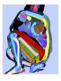 Abstract No.8 Reproduction d'art par Diana Ong