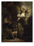 Archangel Raphael Leaving the Family of Tobias